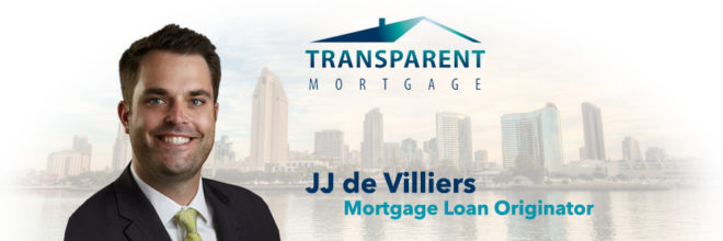 Welcome JJ de Villiers to the Transparent Mortgage Team!