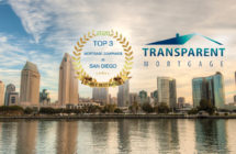 Transparent Mortgage Named One of the Top 3 Mortgage Companies in San Diego